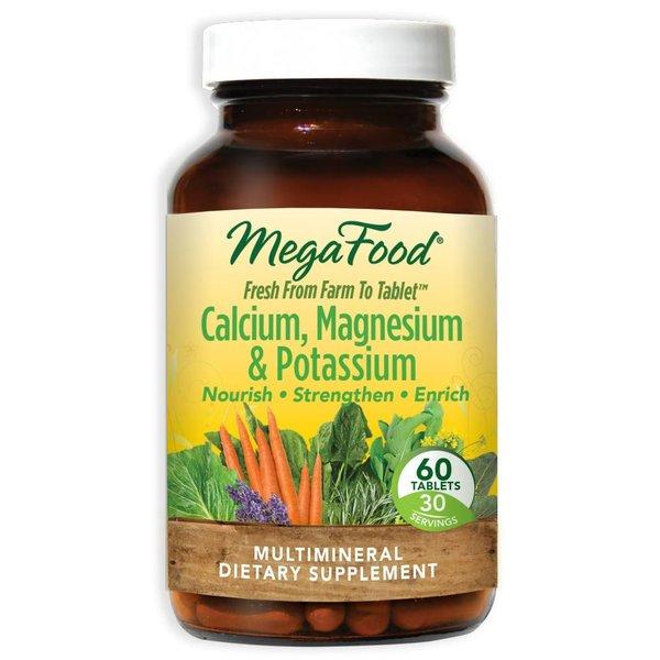 MegaFood Cal, Mag & Potassium 60ct