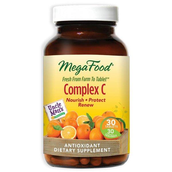 MegaFood Complex C 30ct 00