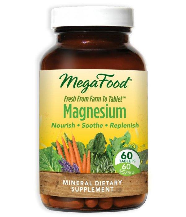 MegaFood MegaFood Magnesium 60ct