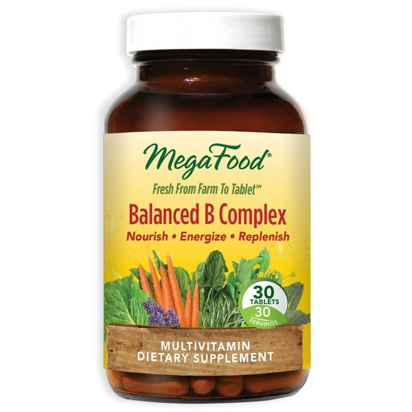 MegaFood Balanced B Complex 30ct