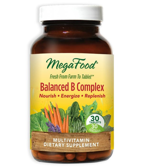 MegaFood MegaFood Balanced B Complex 30ct