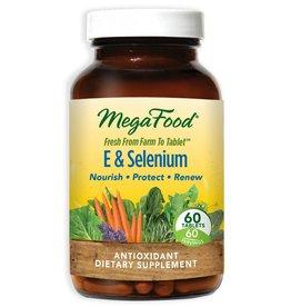 MegaFood E & Selenium 60 ct