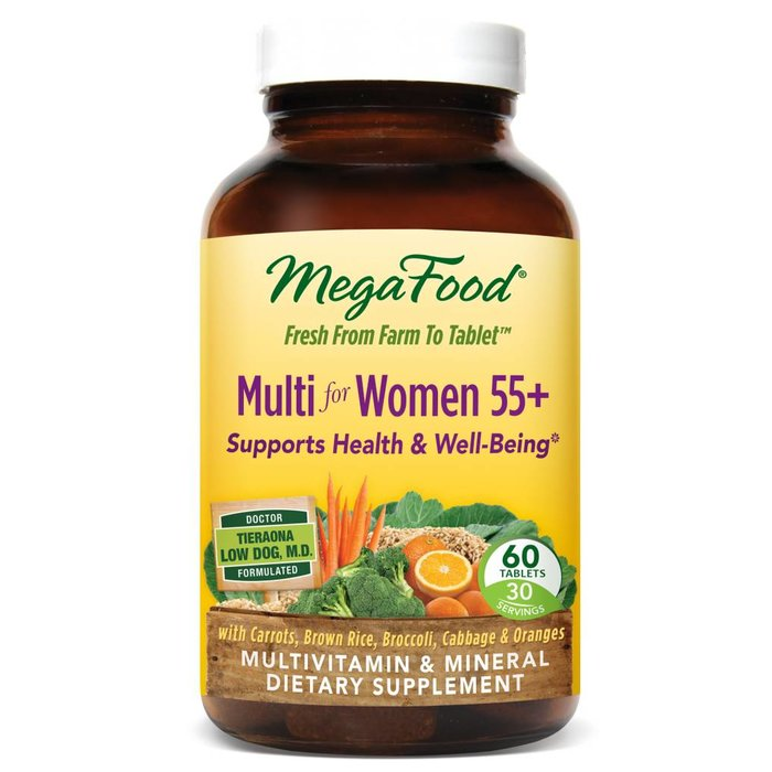 MegaFood Multi for Women 55+ 60 ct
