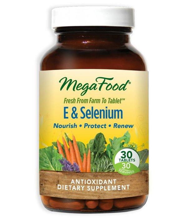MegaFood E & Selenium 30 ct
