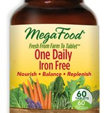 MegaFood MegaFood One Daily Iron Free 60ct