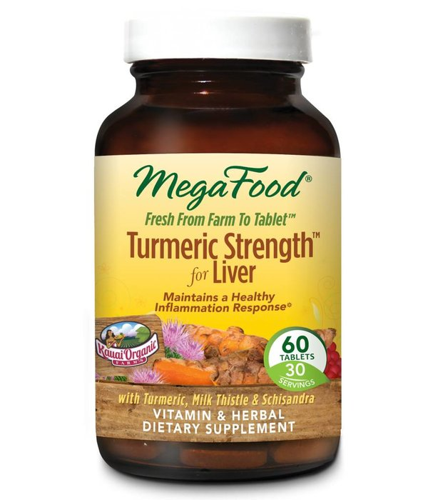 MegaFood Turmeric Strength™ for Liver 60 ct
