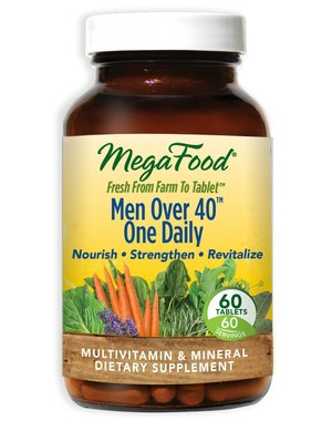 MegaFood Men Over 40 One Daily 60 ct