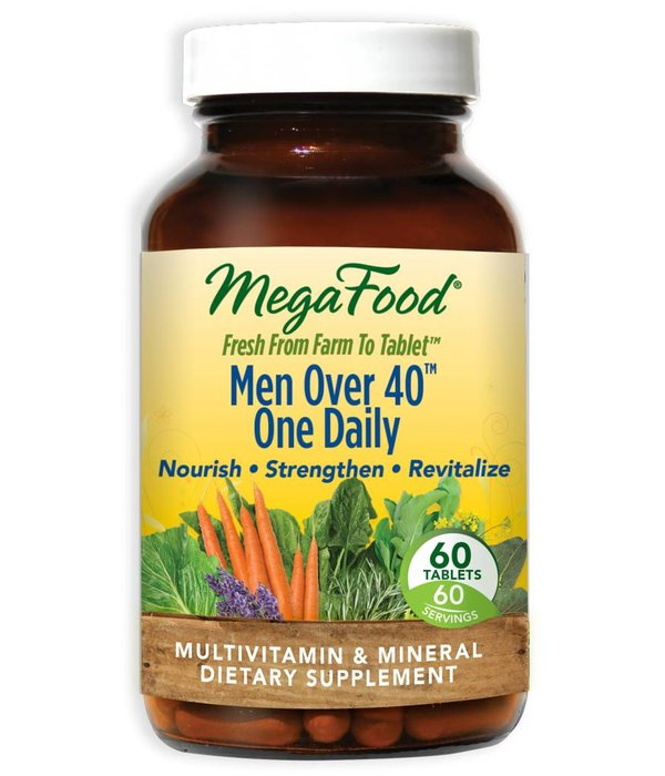 MegaFood MegaFood Men Over 40 One Daily 60ct