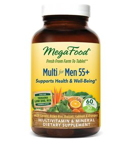 MegaFood Multi for Men 55+ 60 ct
