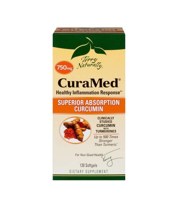 Europharma Terry Naturally CuraMed 750mg 120ct