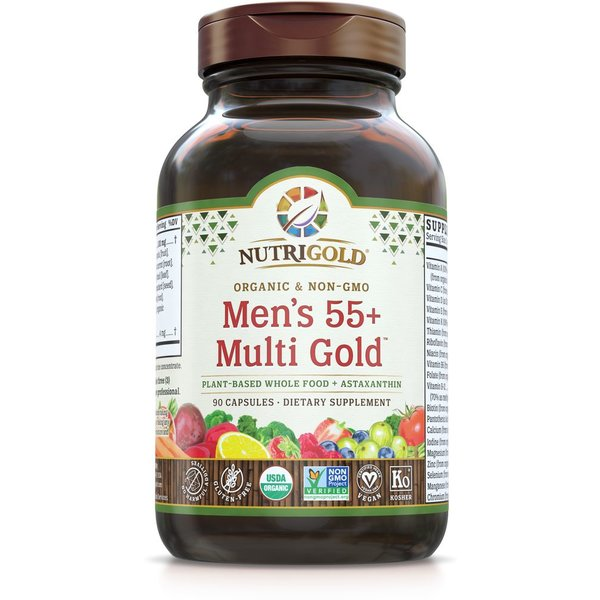 Men's 55+ Organic Multivitamin 90ct