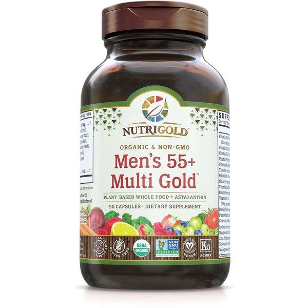 Men's 55+ Organic Multivitamin 90ct