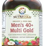 Nutrigold Nutrigold Men's 40+ Organic Multivitamin 90ct