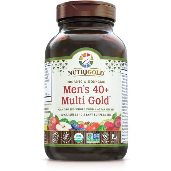 Men's 40+ Organic Multivitamin 90ct