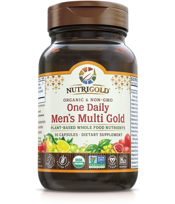 Nutrigold Nutrigold Men's Organic 1 Daily 30ct