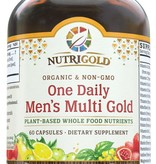 Nutrigold Nutrigold Men's Organic 1 Daily 60ct