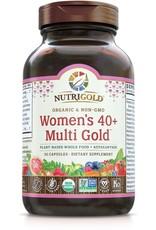 Nutrigold Women's 40+ Organic Multivitamin 90ct
