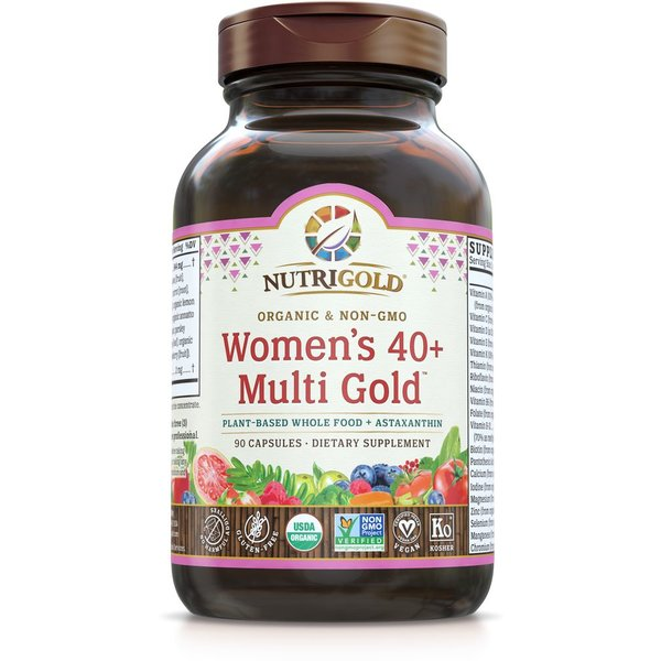 Women's 40+ Organic Multivitamin 90ct