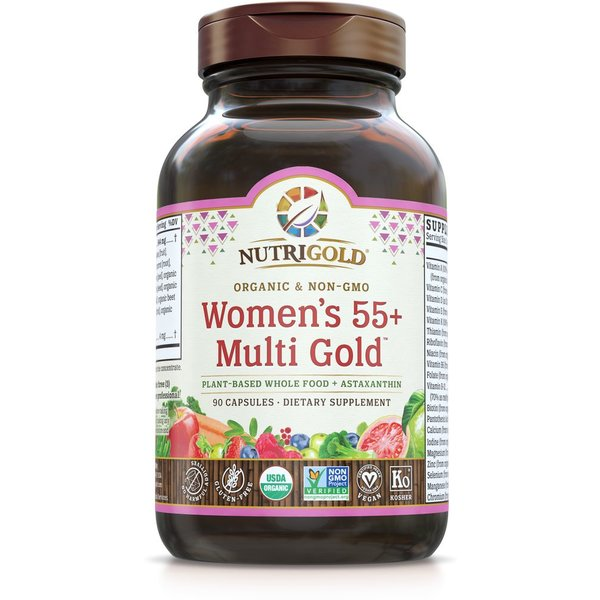 Women's 55+ Organic Multivitamin 90ct