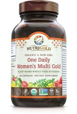 Nutrigold Women's 1 Daily Organic Multivitamin 60ct