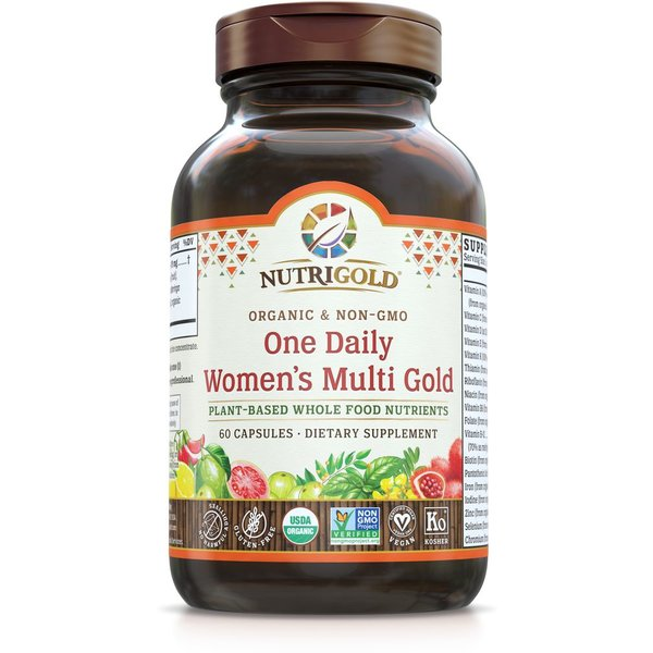 Women's One Daily Organic Multivitamin 60ct