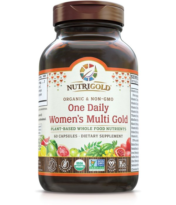 Nutrigold Women's 1 Daily Multi 60ct