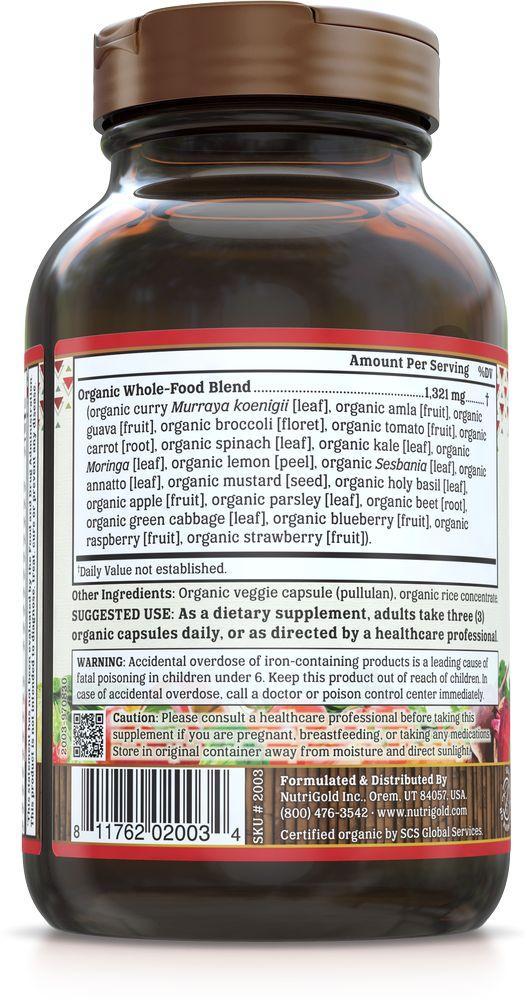 Nutrigold Prenatal Organic Multi 90ct