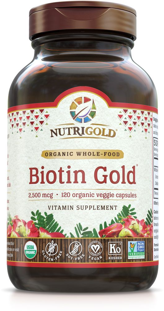 Nutrigold Biotin 2,500 mcg 120ct