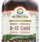 Nutrigold B-12 Gold 2,400 mcg 60ct