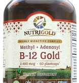 Nutrigold Nutrigold B-12 Gold 1800 mcg 60ct