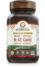 Nutrigold B-12 Gold 2,400 mcg 60ct