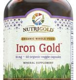 Nutrigold Nutrigold Iron Gold 18mg 60ct