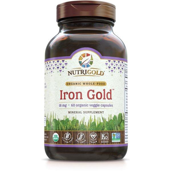 Iron Gold 18mg 60ct