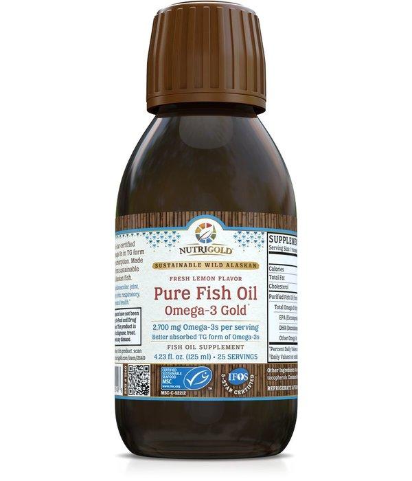 Nutrigold Pure Fish Oil Liquid 2700mg 125ml