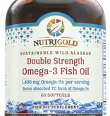 Nutrigold Double Strength Omega-3 1400mg 60ct