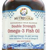 Nutrigold Nutrigold Double Strength Omega-3 1400mg 120ct