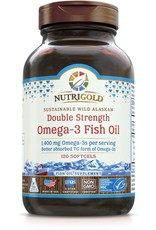 Nutrigold Double Strength Omega-3 1400mg 120ct