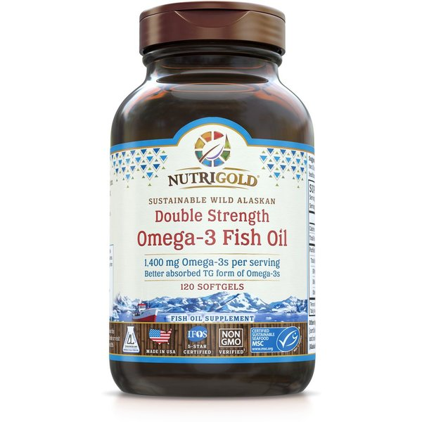 Double Strength Omega-3 1400mg 120ct