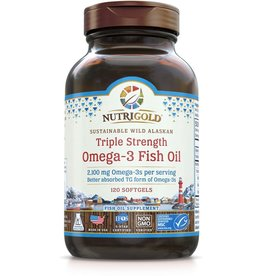 Nutrigold Triple Strength Omega-3 2100mg 120ct