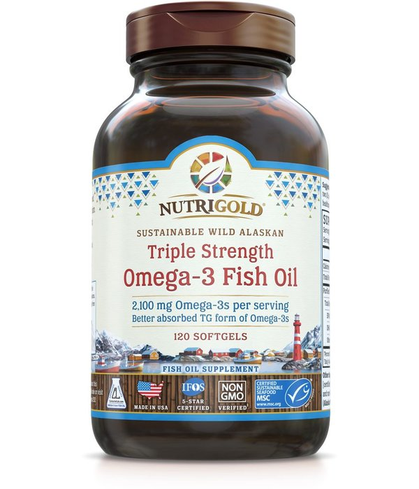 Nutrigold Triple Omega-3 2100mg 120ct