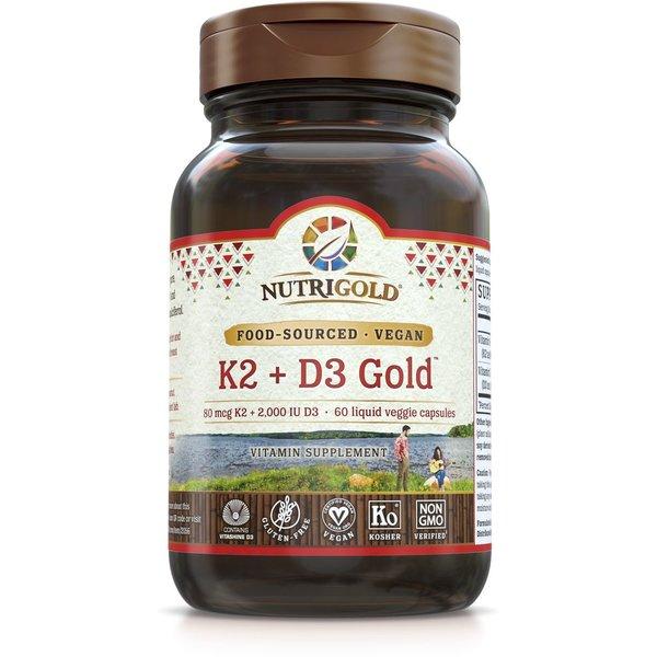 K2 + D3 Gold 60 ct