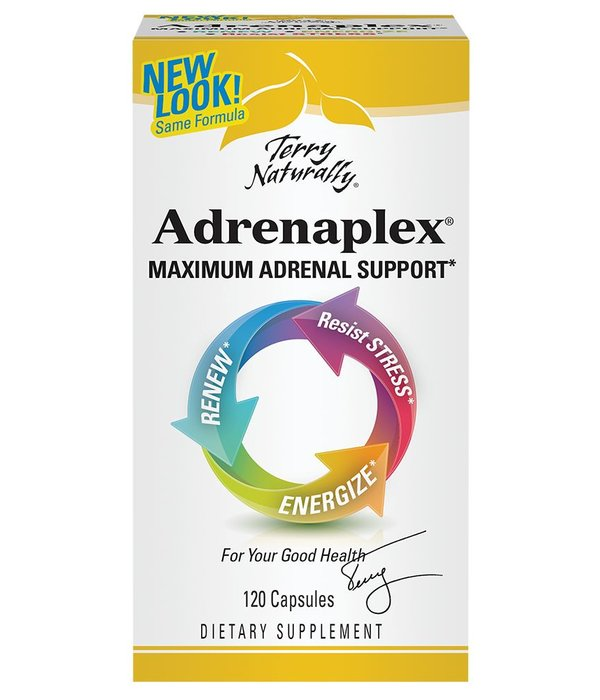 Europharma Terry Naturally Adrenaplex 120 ct