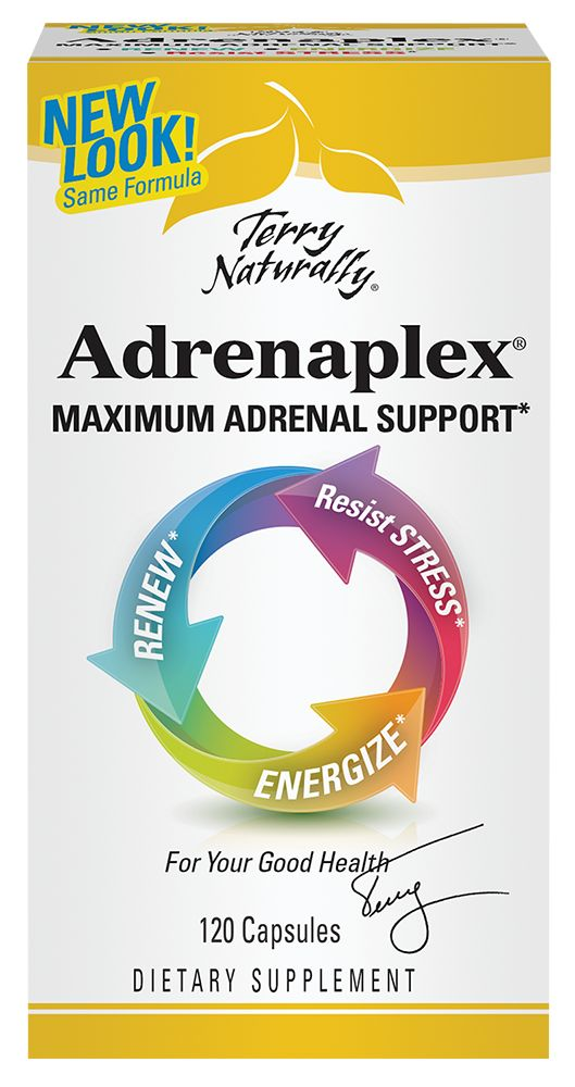 Europharma Terry Naturally Adrenaplex 120 ct