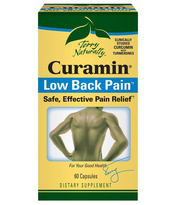 Europharma Terry Naturally Curamin Back Pain 60 ct