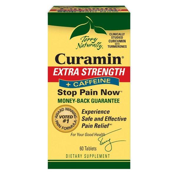 Curamin Extra Strength plus caffeine 60 ct