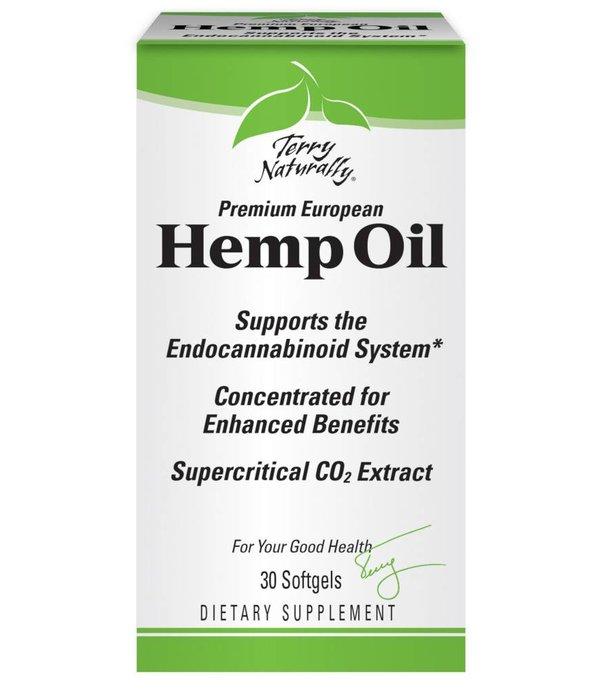 Europharma Terry Naturally Hemp Oil 30ct