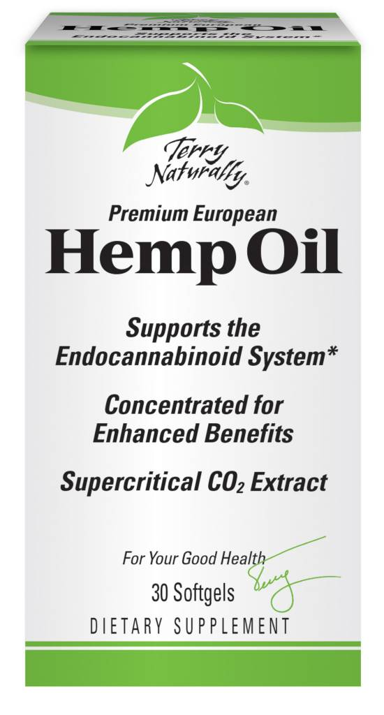 Better Together: Terry Naturally Terry Naturally Hemp Oil 30ct
