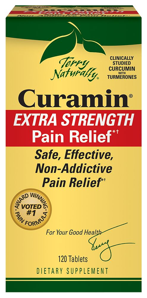 Europharma Terry Naturally Curamin Extra Strength 120 ct
