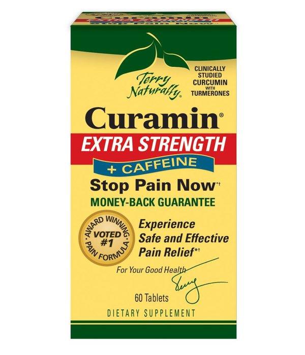 Europharma Terry Naturally Curamin Headache + Caffeine 60 ct