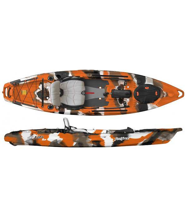 FeelFree Kayaks Lure 11.5 Orange Camo Discontinued Color